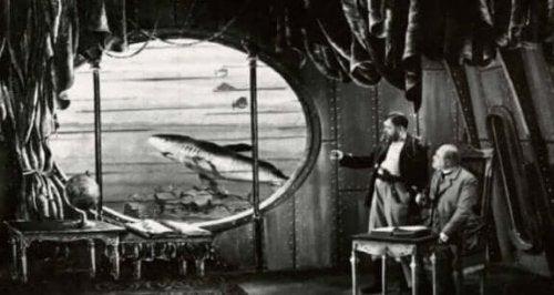 De onderzeeër van jules verne
