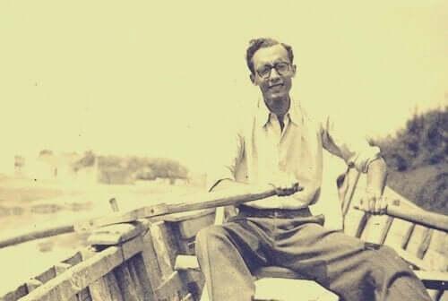 Een jonge saramago in bootje