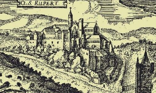 Het klooster van hildegard van bingen