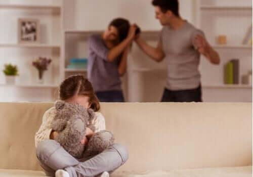Ouders maken ruzie waar kind bij is