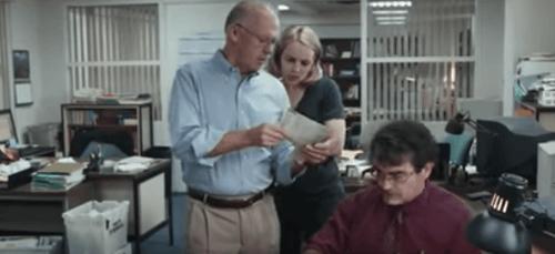 Journalisten aan het werk