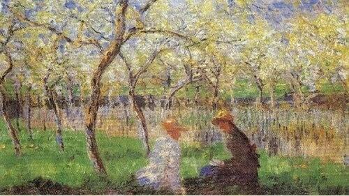 Impressionistisch schilderij