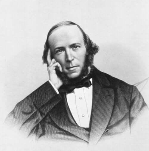 Een portret van Herbert Spencer