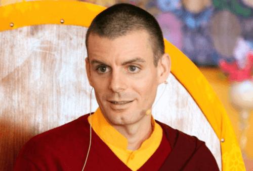 Lama Rinchen een boeddhistische meditatieleraar