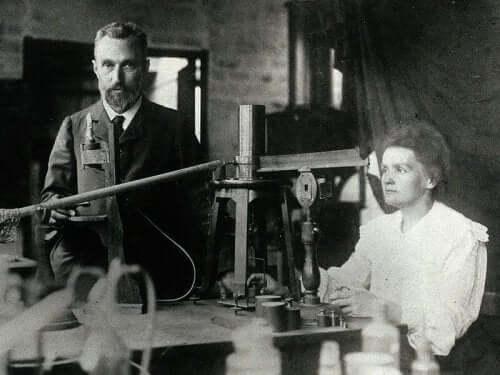 Marie en Pierre Curie