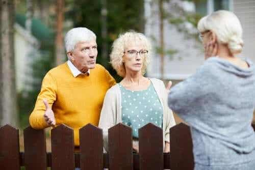 Een burenruzie kan ernstige schade aanrichten