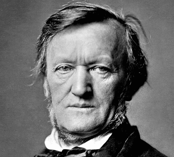 Portret van Richard Wagner