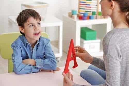 Ernstige spraak- en taalmoeilijkheden bij kinderen