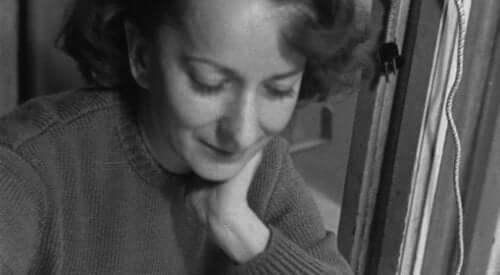 Een jonge Wisława Szymborska