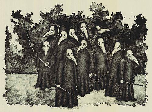 De bizarre dagen van de Zwarte Dood