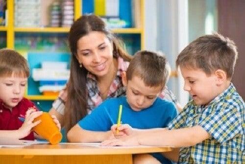 Onbeduidende aanpassingen van het leerplan