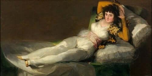 De geklede Maja van Goya