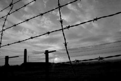 Chaim Ferster in een concentratiekamp