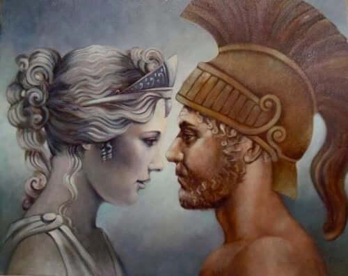 De mythe van Aphrodite en Ares