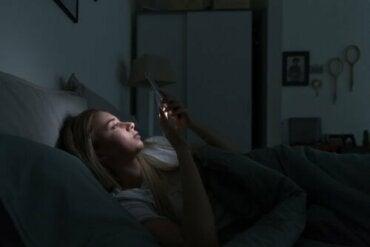 Elektronische apparaten en veranderingen in slaap