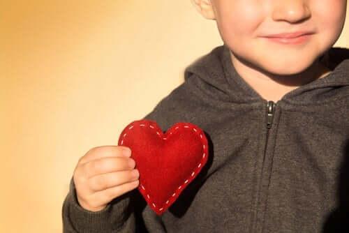 Kind met een dankbaar hart