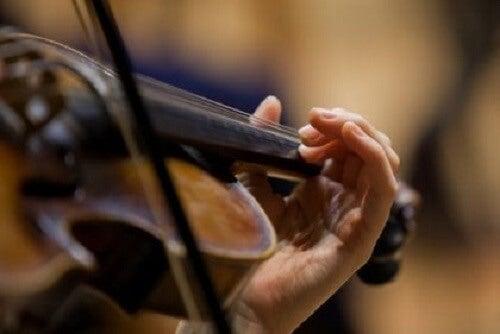 Een beroemde vioolspeler in de metro