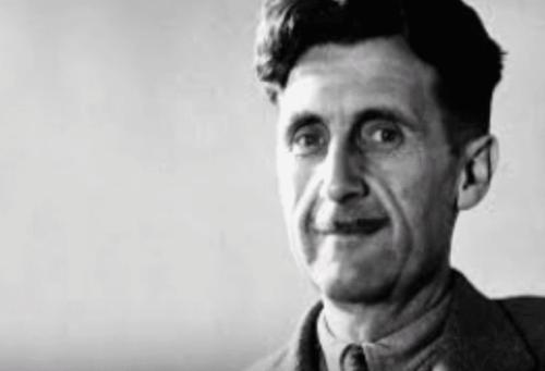 George Orwell: biografie, manipulatie van taal, en totalitarisme