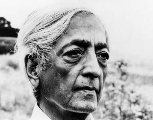 Jiddu Krishnamurti op oudere leeftijd