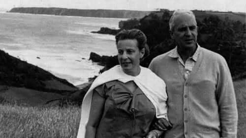 Ochoa samen met zijn vrouw