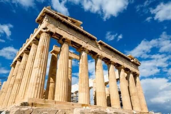 De Acropolis in Griekenland