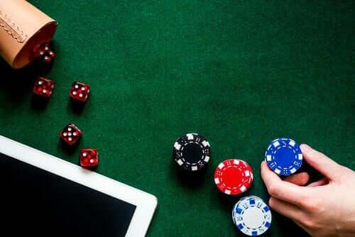 Gokkers in casino