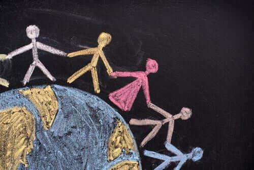 Mensen rond de wereld hebben verschillende grondrechten