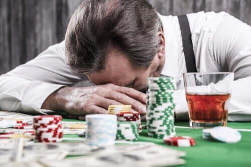 Pathologische gokkers en cognitieve vervormingen