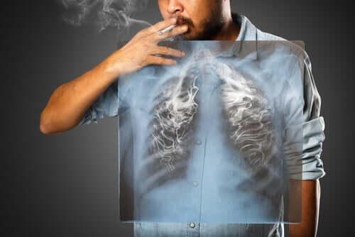 Roken beïnvloedt je longen