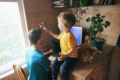 Werken vanuit huis als je kinderen thuis hebt