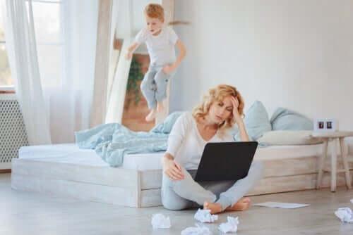 Werken vanuit huis met kinderen thuis