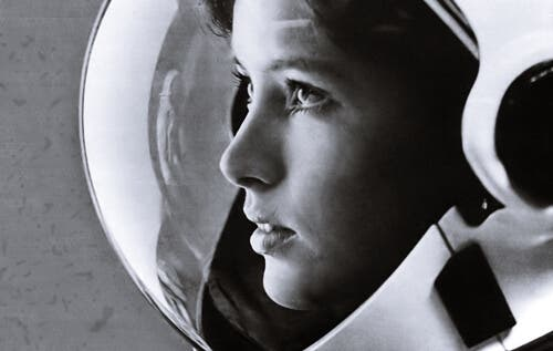 Vrouwen en meisjes in de wetenschap zoals in de ruimtevaart