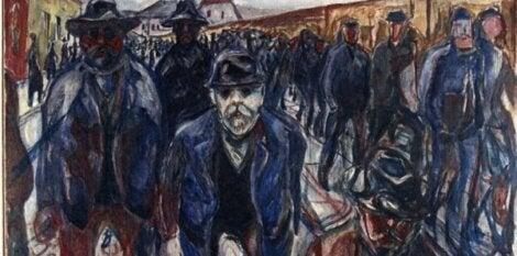 De arbeiders van Munch
