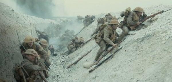 De loopgraven uit WWI