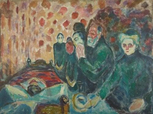 Schilderij van Munch