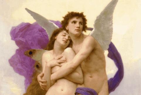 De mythe van Eros en Psyche