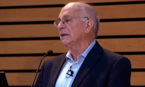 Kahneman op een conferentie