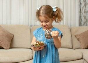 De fruitsnoepjes-uitdaging en zelfbeheersing bij kinderen