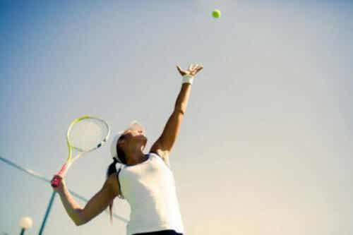 Tennispsychologie en hoe de mentale strijd te winnen