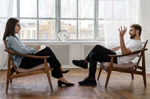 Soms is therapie nodig als iemand aan een stressstoornis lijdt