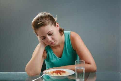 Verlies van eetlust: waarom komt dit voor?