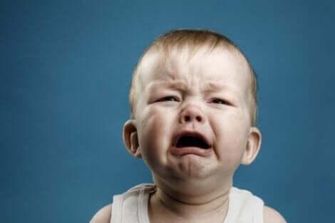 Een huilende baby