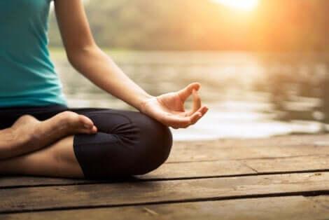 Meditatie kan helpen je geest te ordenen