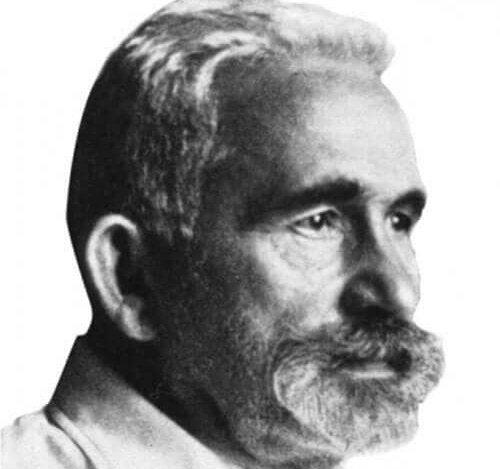 Een afbeelding van Bleuler op later leeftijd