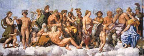 De goden van Olympus