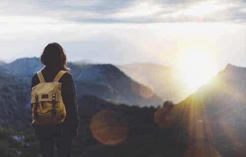 Alleen op reis omdat je wil weglopen voor je problemen