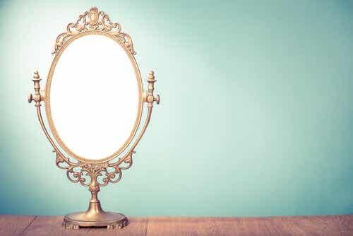 De spiegel uit het verhaal