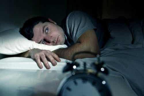 Door negatieve emoties is het moeilijk om te slapen