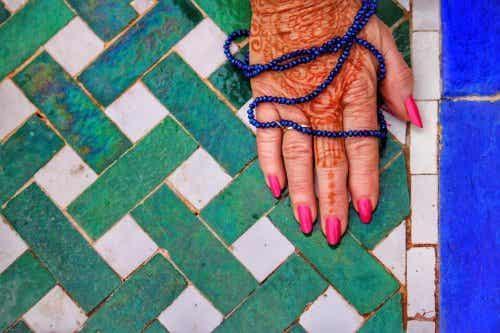 Een henna tatoeage is hier nu ook populair