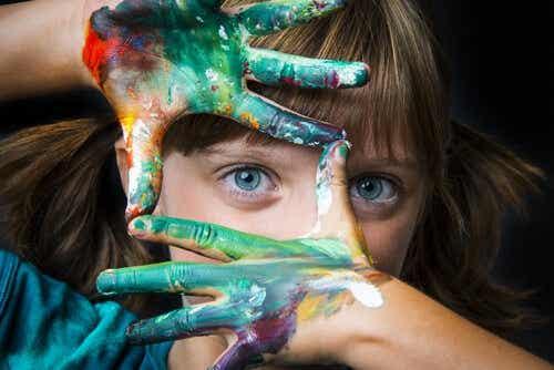 3 sleutels voor het cultiveren van creativiteit bij kinderen
